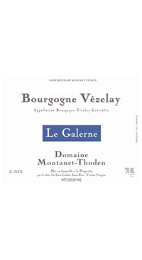 """A product image for Montanet-Thoden """"Le Galerne"""" Blanc"""