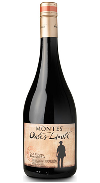 A product image for Montes Outer Limits Cinsault