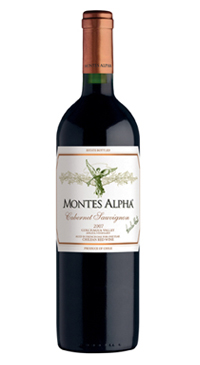A product image for Montes Alpha Cabernet Sauvignon