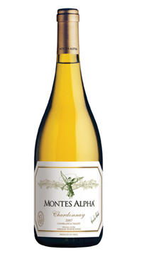 A product image for Montes Alpha Chardonnay