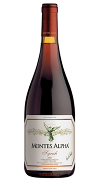 A product image for Montes Alpha Syrah