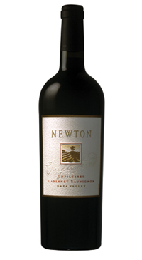 A product image for Newton Unfiltered Cabernet Sauvignon