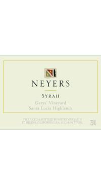 A product image for Neyers Garys Vineyard Syrah