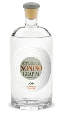 A product image for Nonino Friulano Grappa