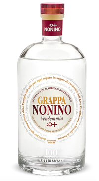 A product image for Nonino Vendemia Grappa