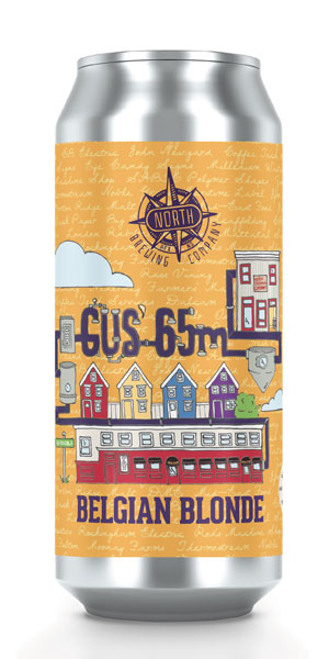A product image for North Brewing Gus' 65M Ale
