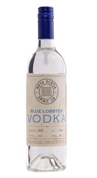 A product image for Nova Scotia Spirits Co. Blue Lobster Vodka