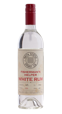 A product image for Nova Scotia Spirits Co. Fisherman's Helper White Rum