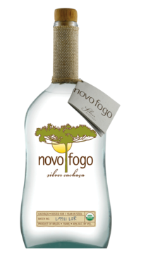 A product image for Novo Fogo Silver Cachaca