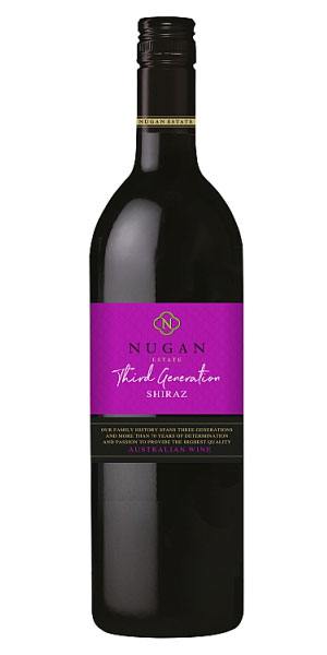 A product image for Nugan Third Generation Shiraz