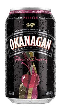A product image for Okanagan Black Cherry Cider