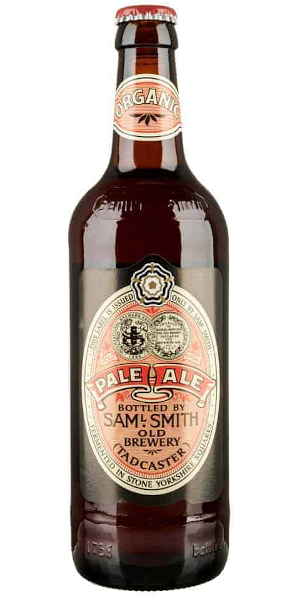 A product image for Samuel Smith Organic Pale Ale