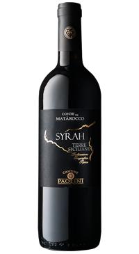 A product image for Cantine Paolini Conte di Matarocco Syrah