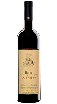 A product image for Paolo Scavino Barolo Carobric