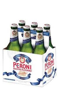 A product image for Peroni Nastro Azzuro Lager