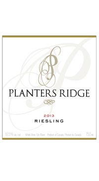 A product image for Planters Ridge Riesling