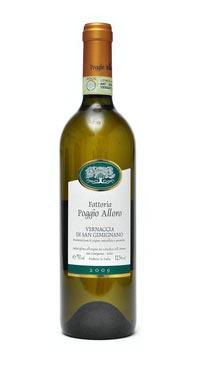 A product image for Poggio Alloro Vernaccia DOCG