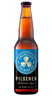 A product image for Propeller Pilsener 6pk