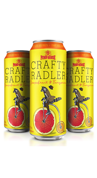 A product image for Pumphouse Crafty Radler
