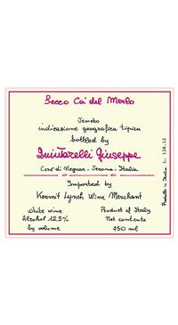 A product image for Quintarelli Bianco Secco Ca' del Merlo IGT: