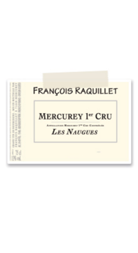 A product image for Domaine Raquillet Mercurey Cru Naugues