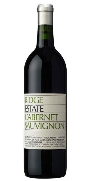 A product image for Ridge Estate Cabernet Sauvignon