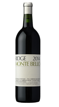 A product image for Ridge Monte Bello Cabernet Sauvignon