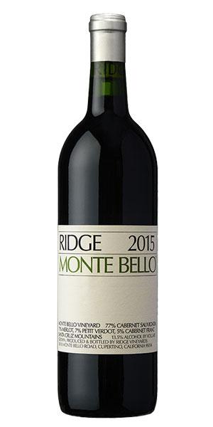 A product image for Ridge Monte Bello Cabernet Sauvignon