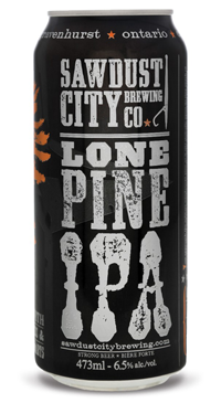 A product image for Sawdust City Lone Pine IPA