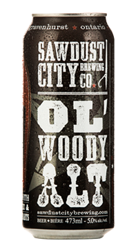 A product image for Sawdust City Ol Woody Lagered Ale