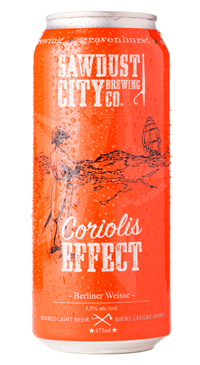 A product image for Sawdust City Coriolis Effect Berliner Weisse