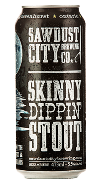 A product image for Sawdust City Skinny Dippin' Stout