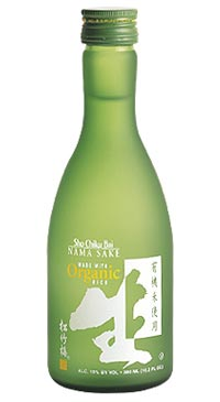 A product image for Sho Chiku Bai Organic Nama Sake