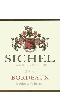 A product image for Sichel Bordeaux AOC Red