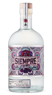 A product image for Siempre Tequila Plata