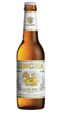 A product image for Singha Beer 6pk