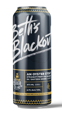 A product image for Sober Island Oyster Stout