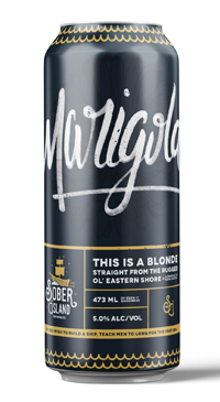A product image for Sober Island Marigold Blonde Ale