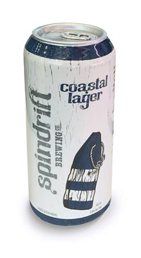 A product image for Spindrift Coastal Lager