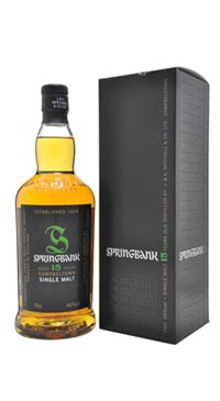 A product image for Springbank 15 Year Old Single Malt