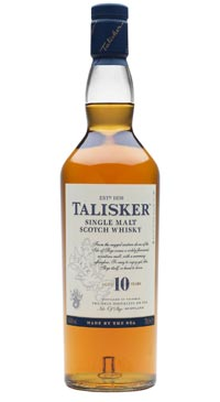 A product image for Talisker 10 Year