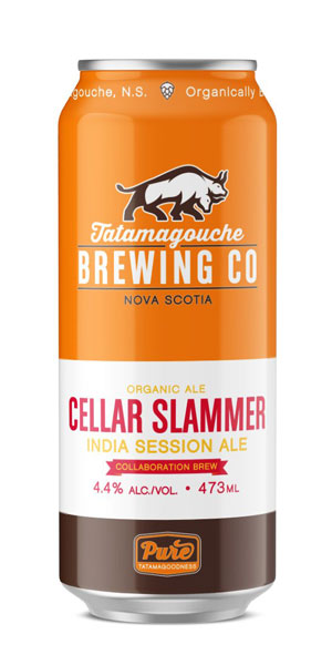 A product image for Tatamagouche X Bishops Cellar – Cellar Slammer Session IPA