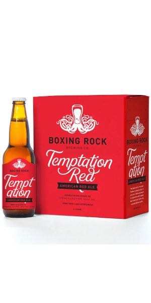 A product image for Boxing Rock Temptation Red Ale 6pk