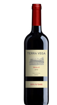 A product image for Terra Vega Merlot