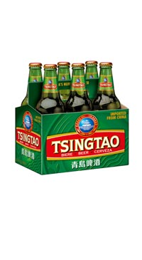 A product image for Tsing-Tao Beer 6pk