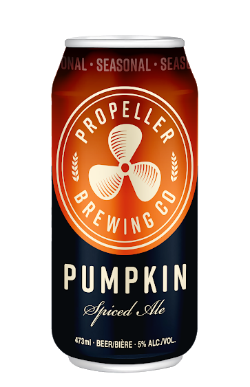 A product image for Propeller Pumpkin Ale