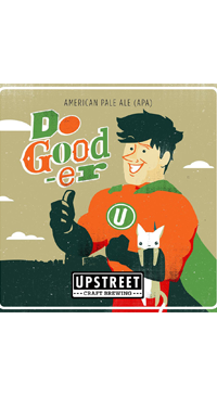 A product image for Upstreet Do Gooder American Pale Ale