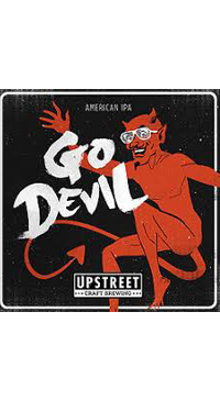A product image for Upstreet Go Devil IPA