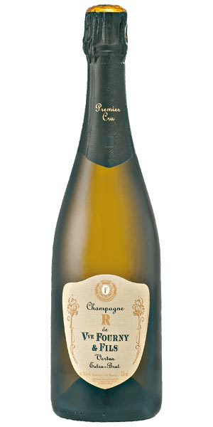 A product image for Champagne Veuve Fourny Vertus Cuvee R 1er Cru Extra Brut