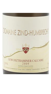 A product image for Zind Humbrecht Gewurztraminer Calcaire